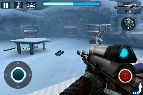 Gameloft NOVA iPhone First Person Shooter Game Screen Shots