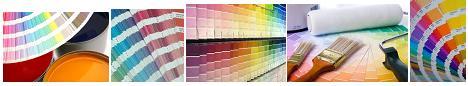 Various Colors & Color Schemes of Paint